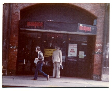 Picture of Marquee Club in Wardour Street from London's Lost Music Venues.